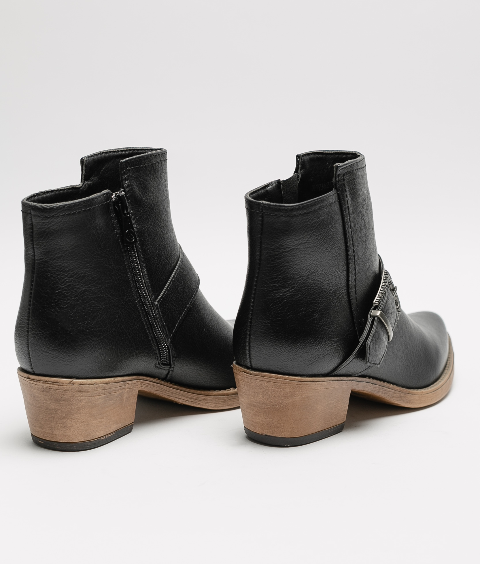Low Boot Tatu - Black