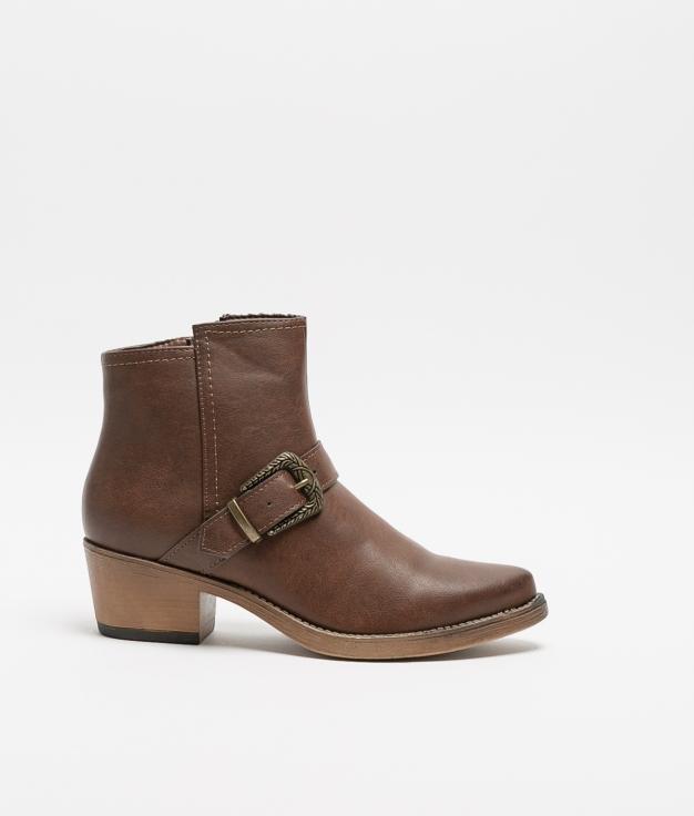 Low Boot Tatu - Brown