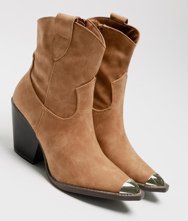 Low Boot Cati - Camel