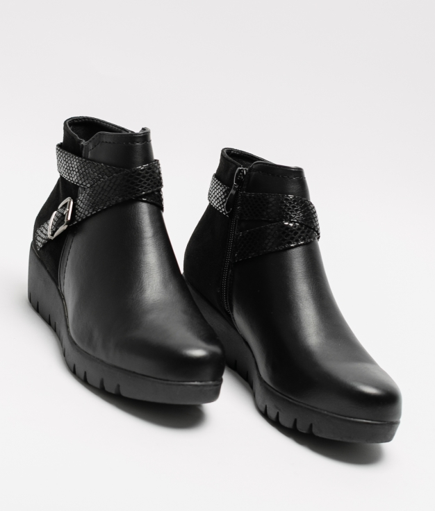 Klia Low Boot - Black