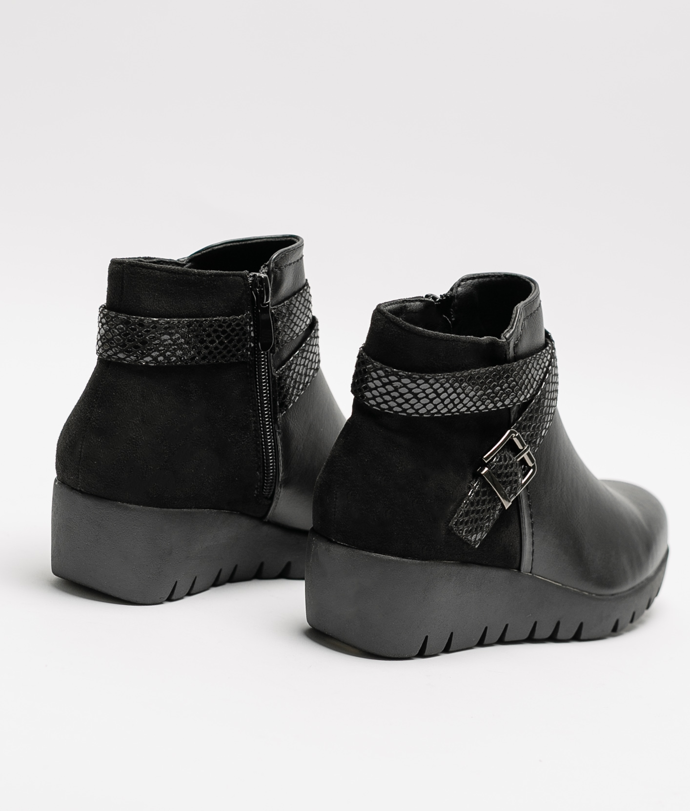 Klia Low Boot - Black