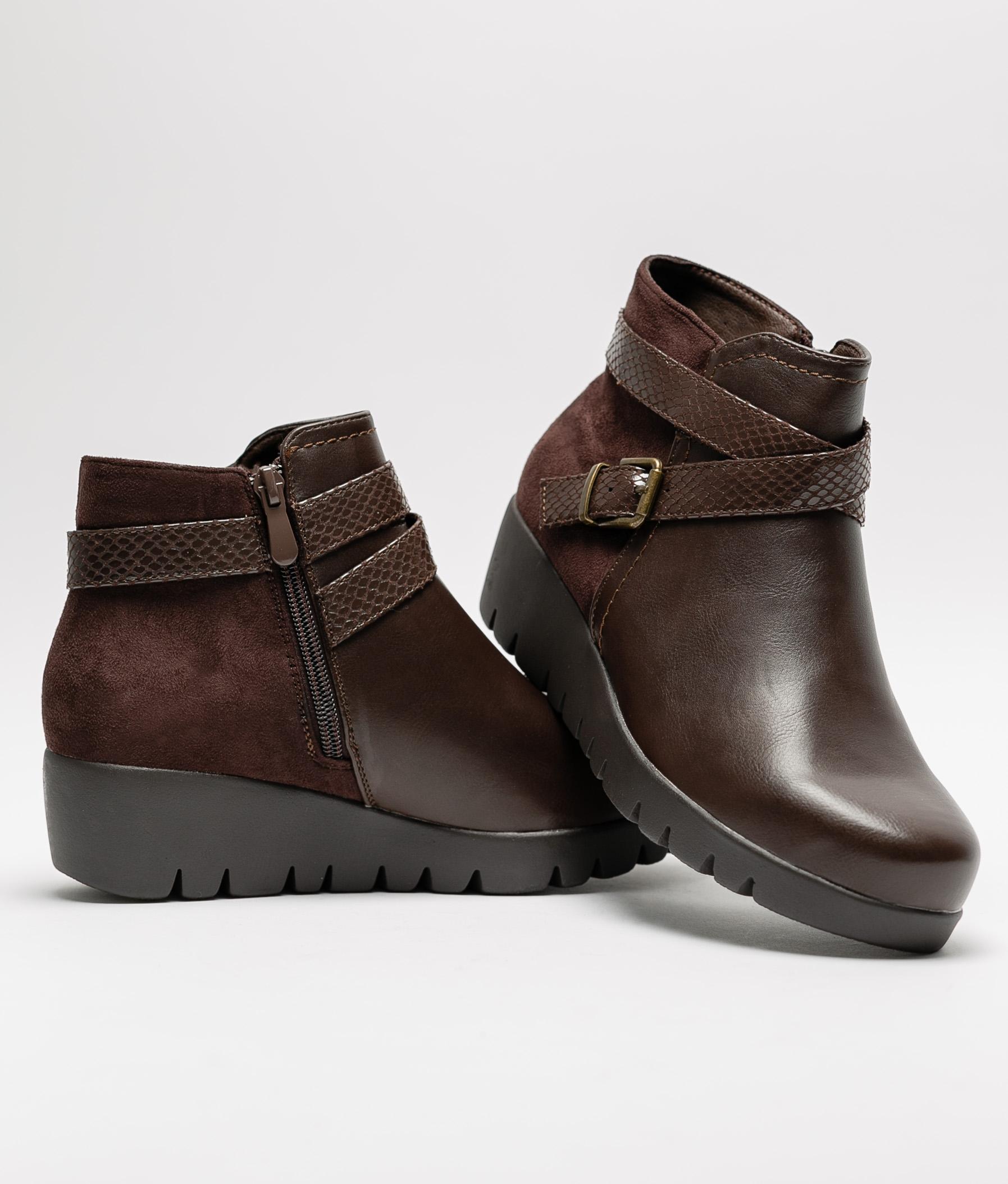 Klia Low Boot - Brown