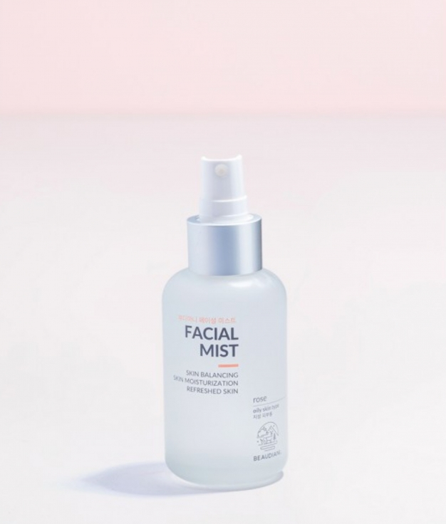 BRUMA FACIAL ROSA DAMASCO