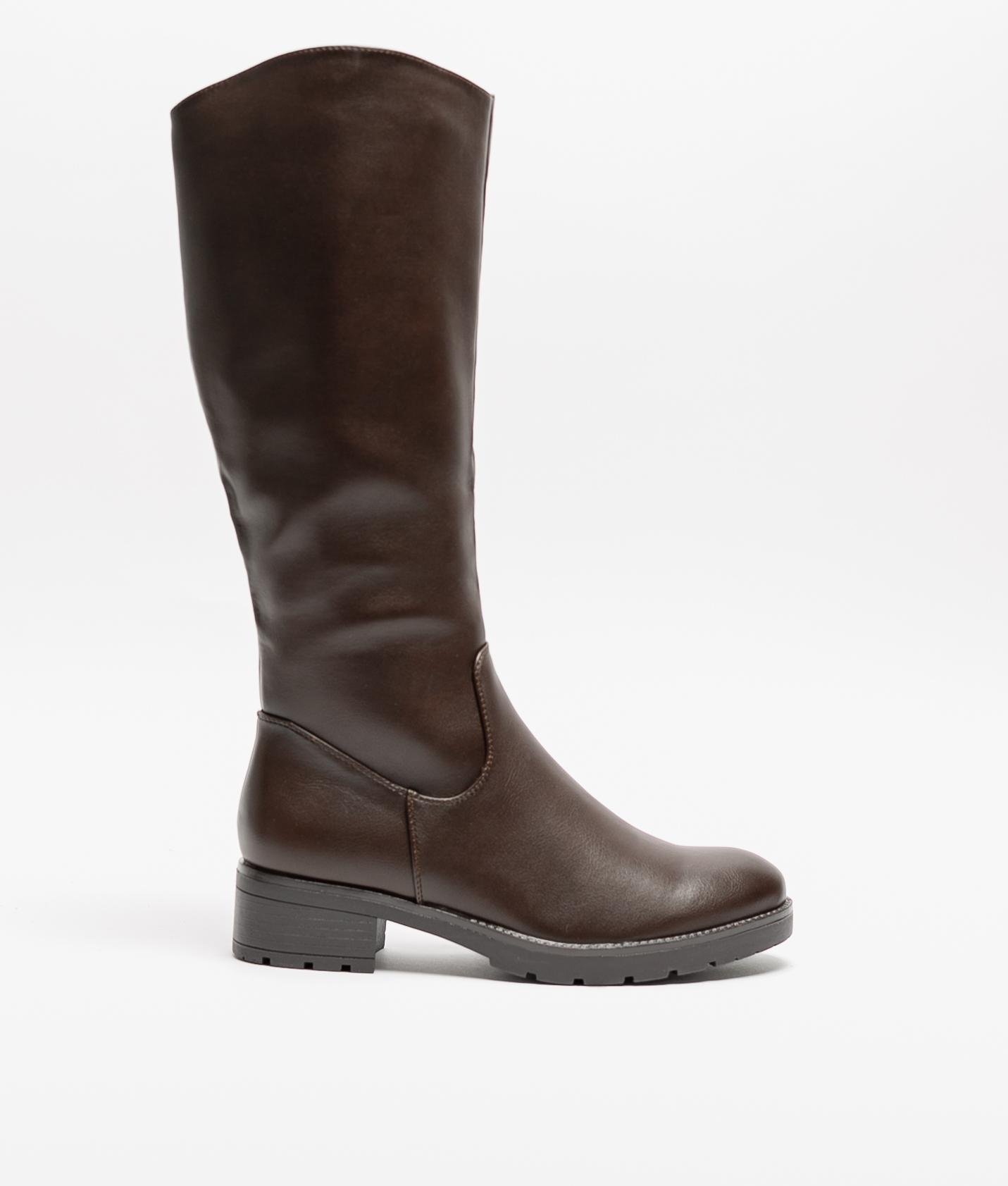 Knee-Lenght Boot Panu - Brown