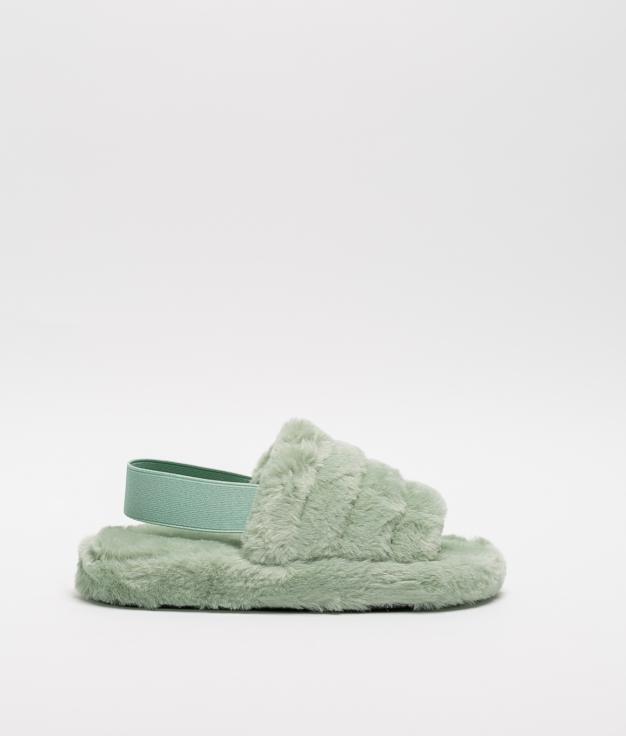 MINDI SLIPPERS - GREEN