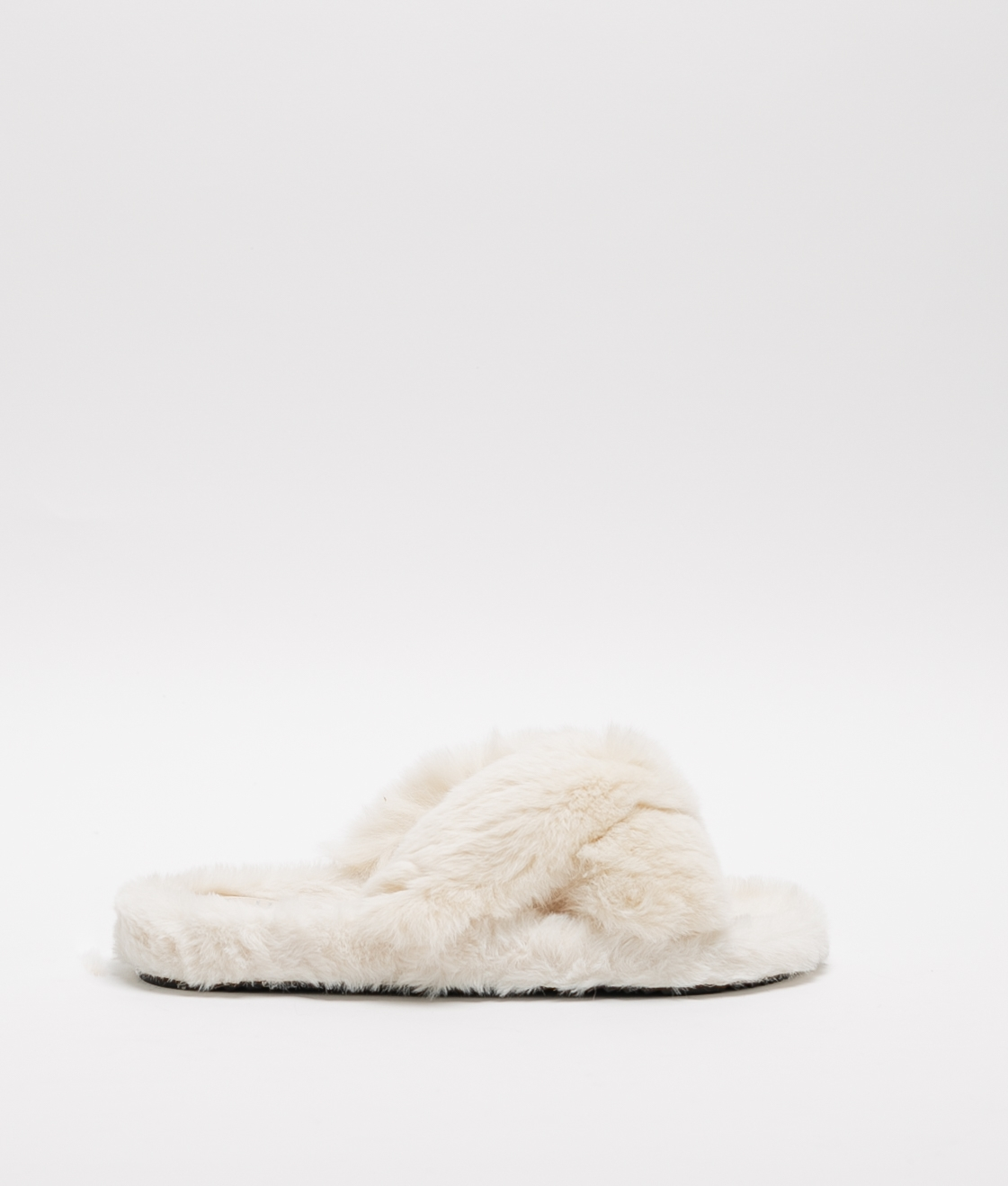 BUNY SLIPPERS - BEIGE