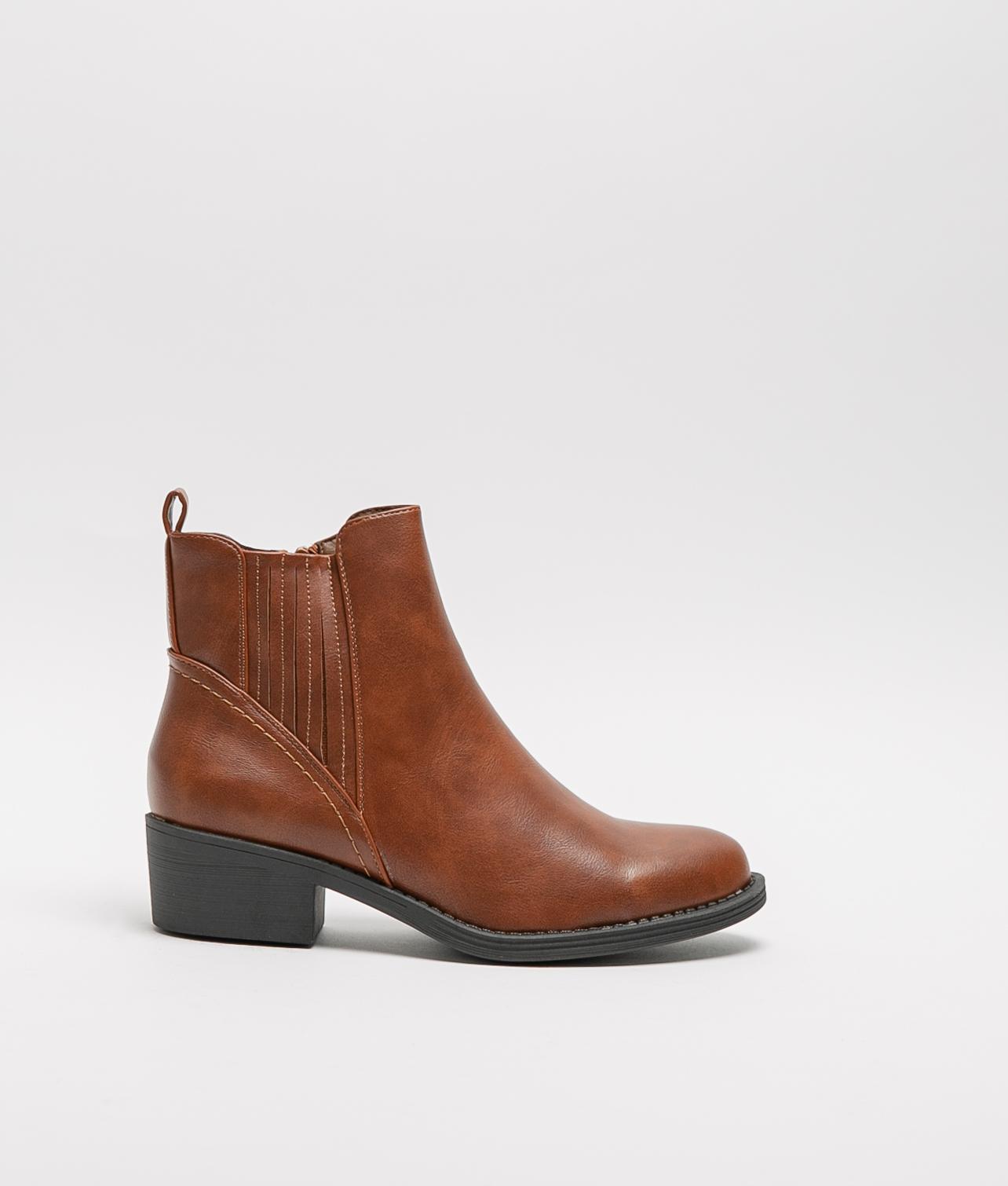 Low Boot Tilet - Camel