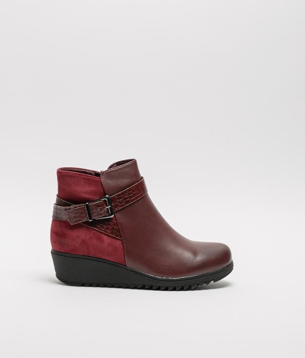 Klod Low Boot - Garnet