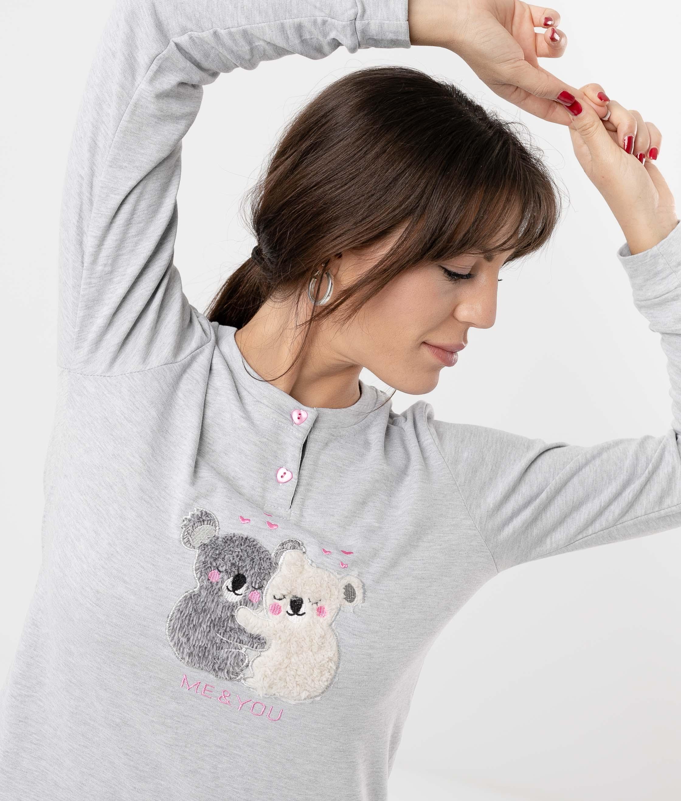 Pijama Ponder - Gris