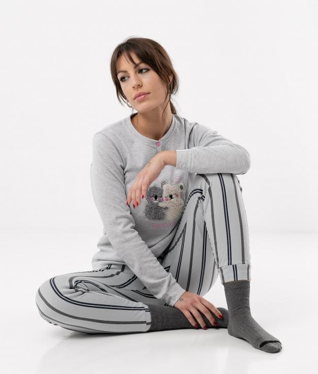 Pijama Ponder - Grey