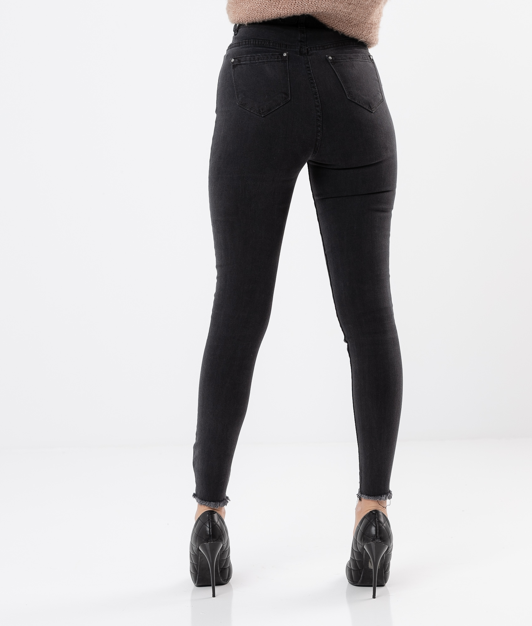 CONESA TROUSERS - BLACK