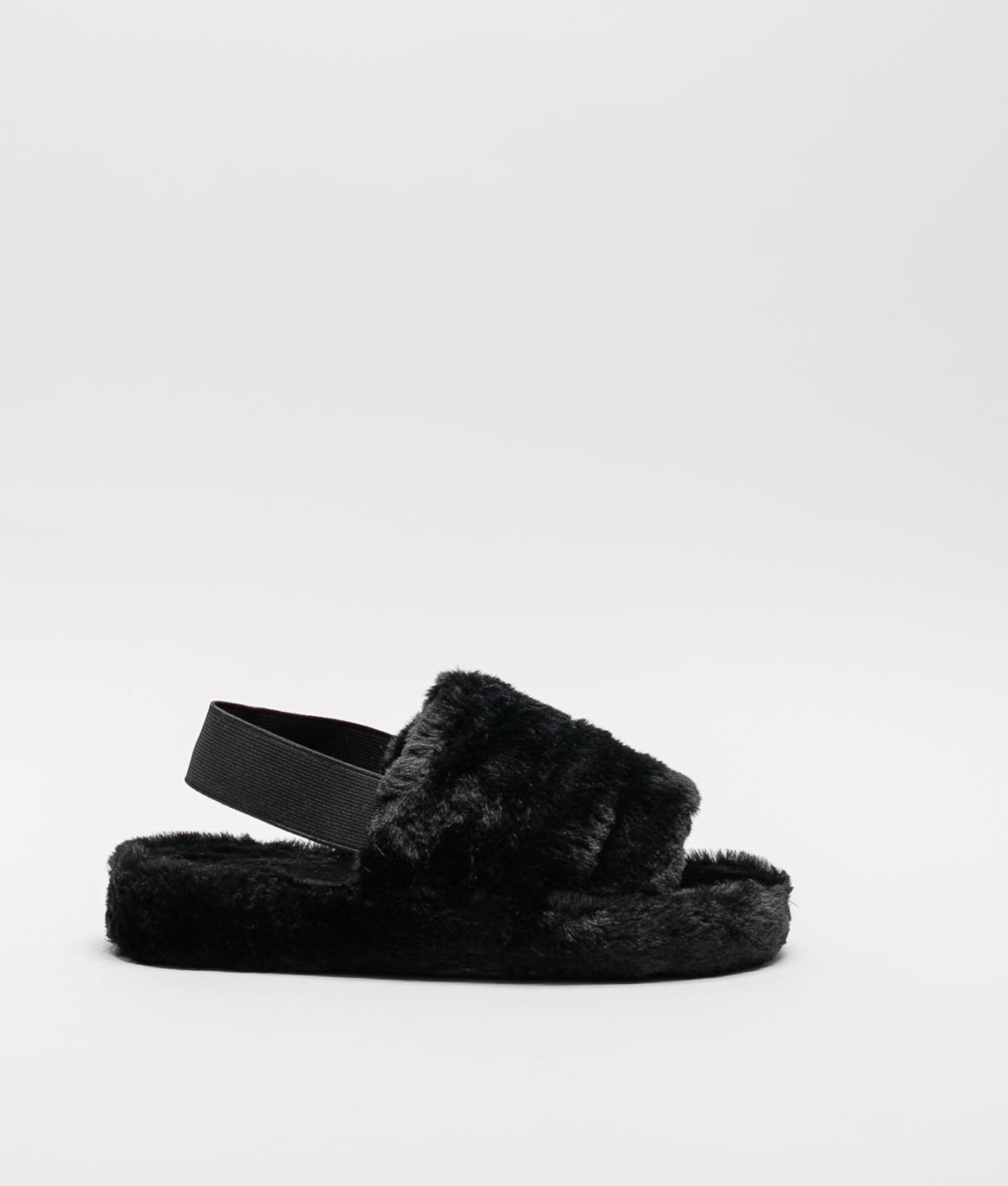 MINDI SLIPPERS - BLACK