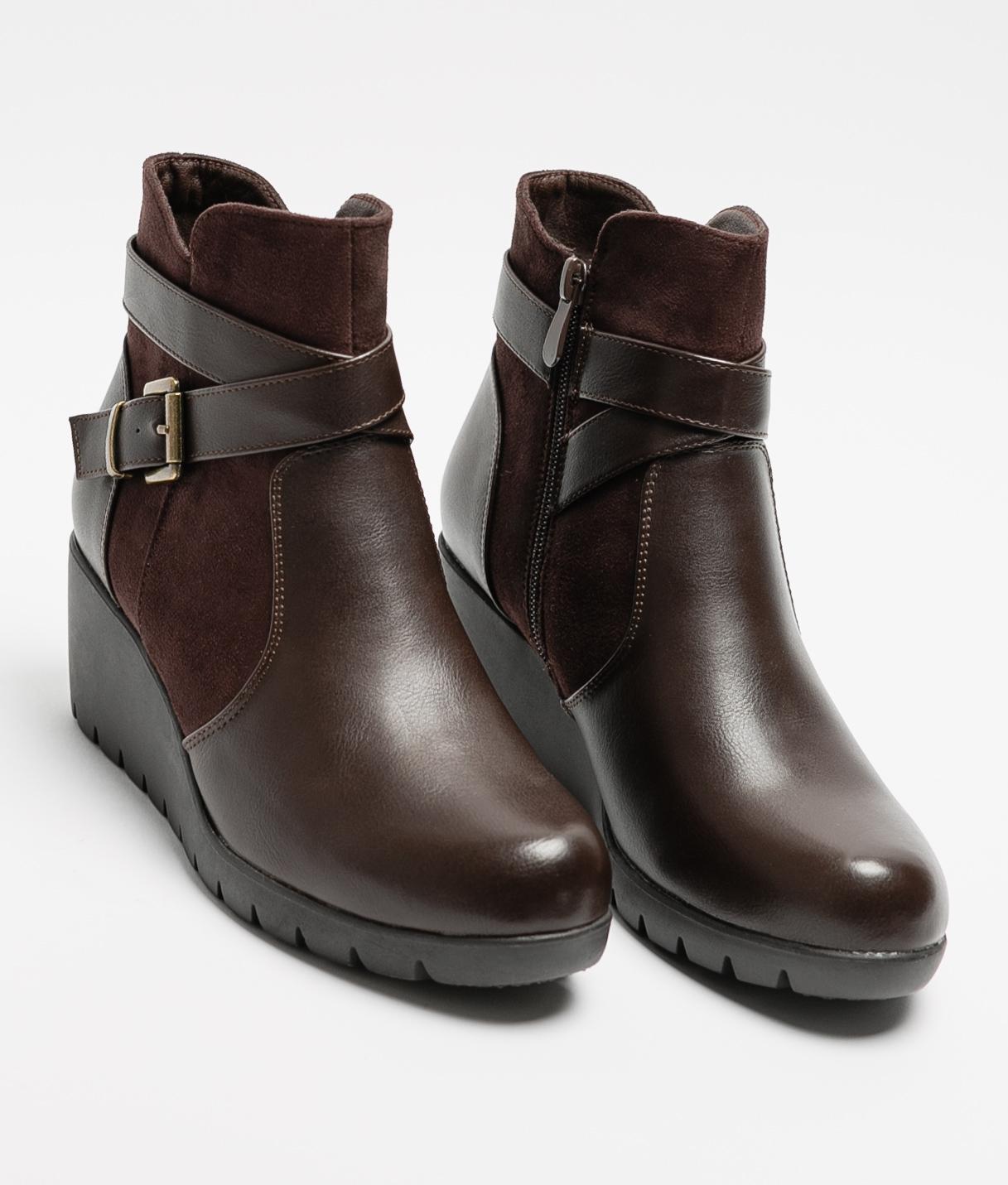 Low Boot Veler - Brown