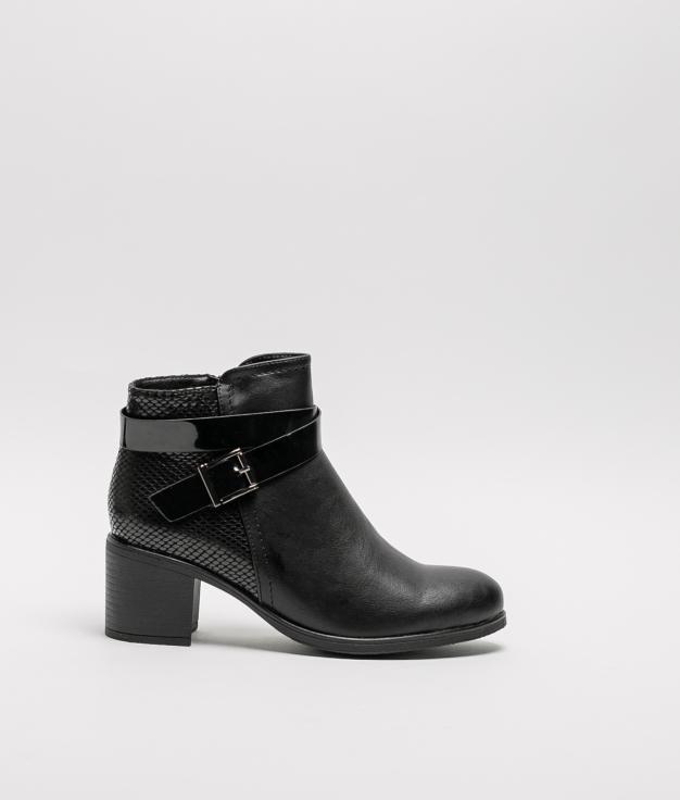 Noi Low Boot - Black