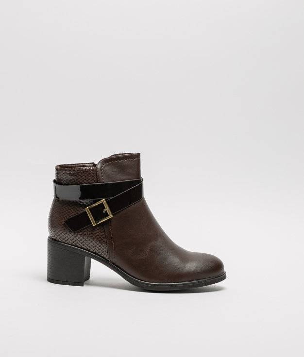 Noi Low Boot - Brown