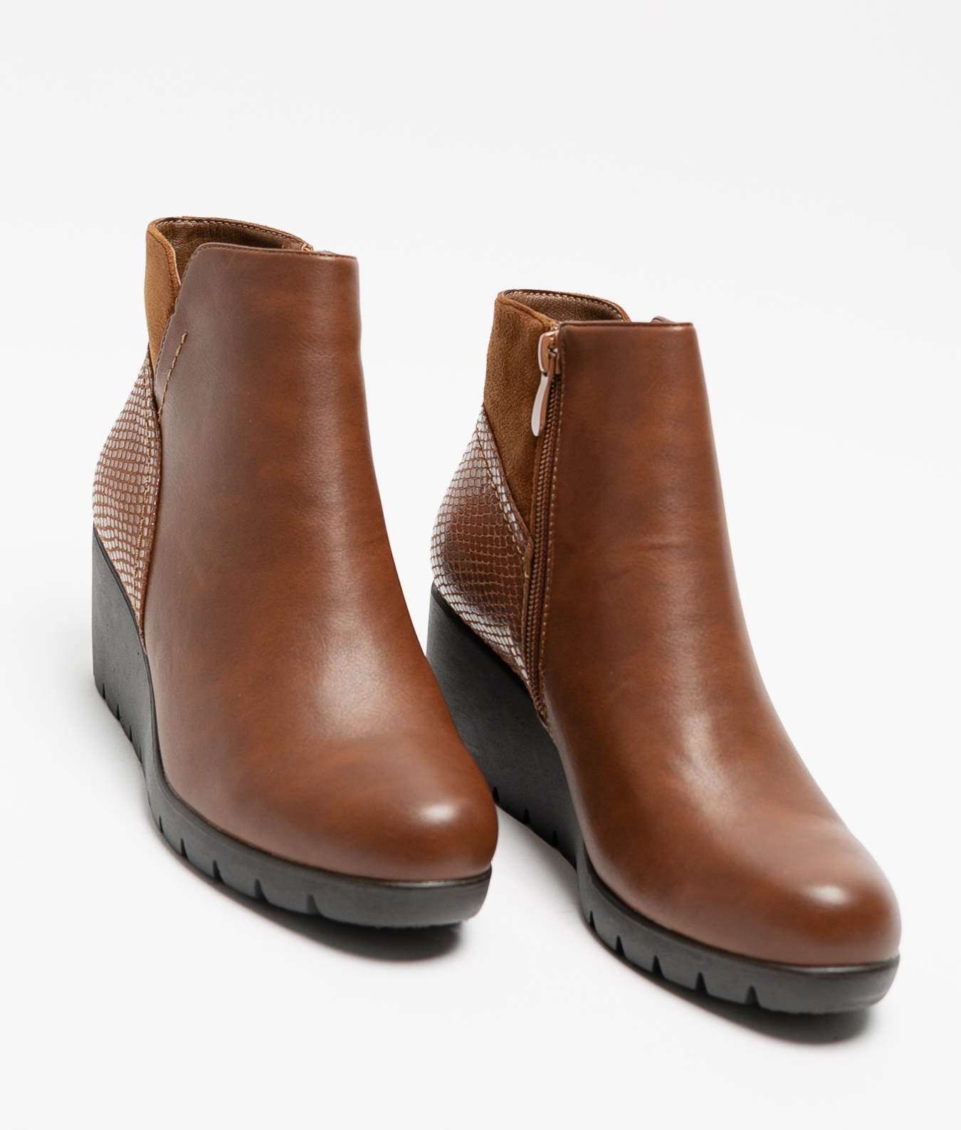 Trudy Low Boot - Camel