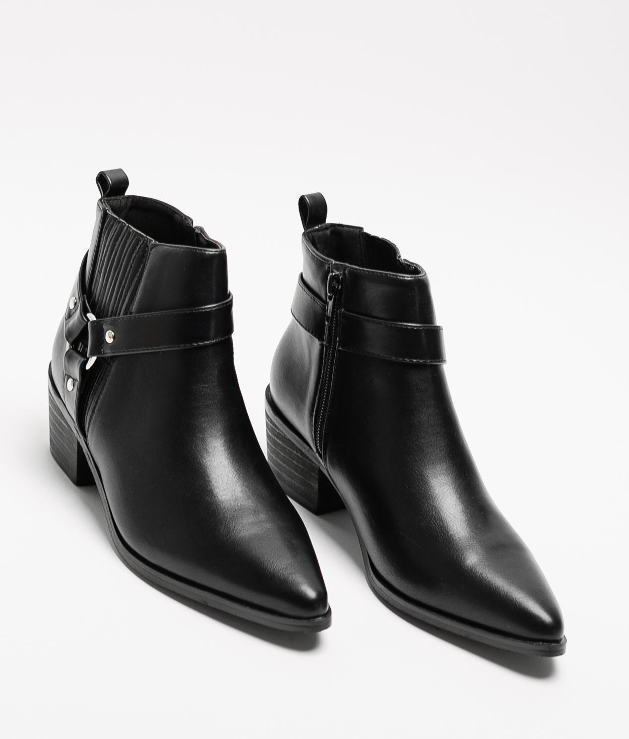 Nanta Low Boot - Black