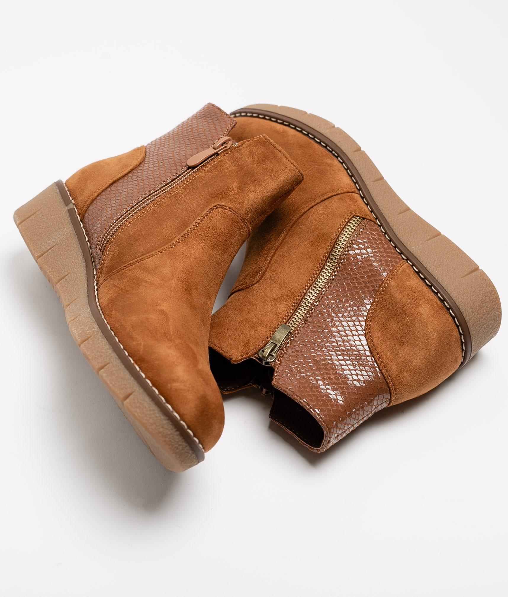 Low Boot Meral - Camel