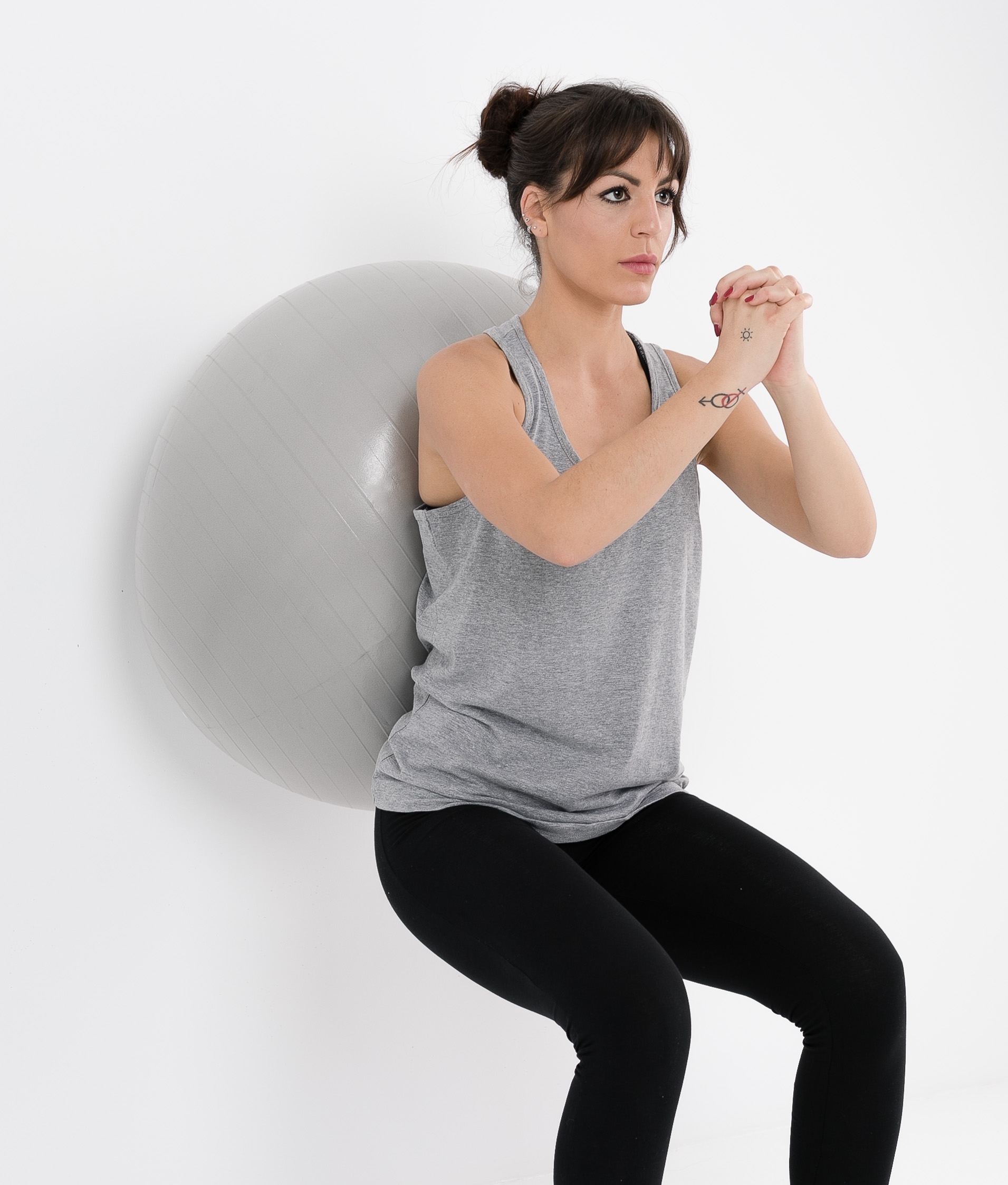 GYMBALL 75 CM - GRIS