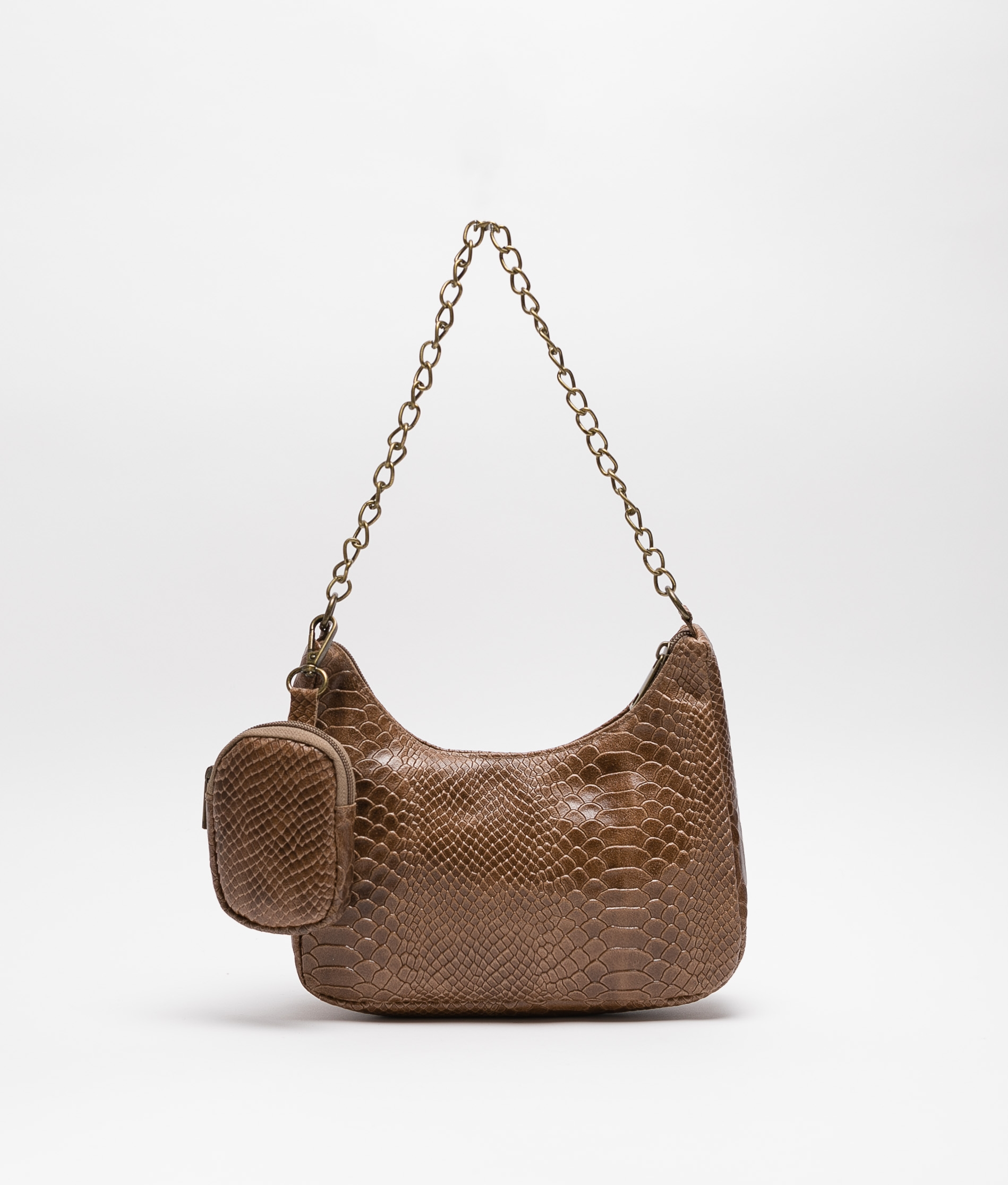 Luis leather bag - green