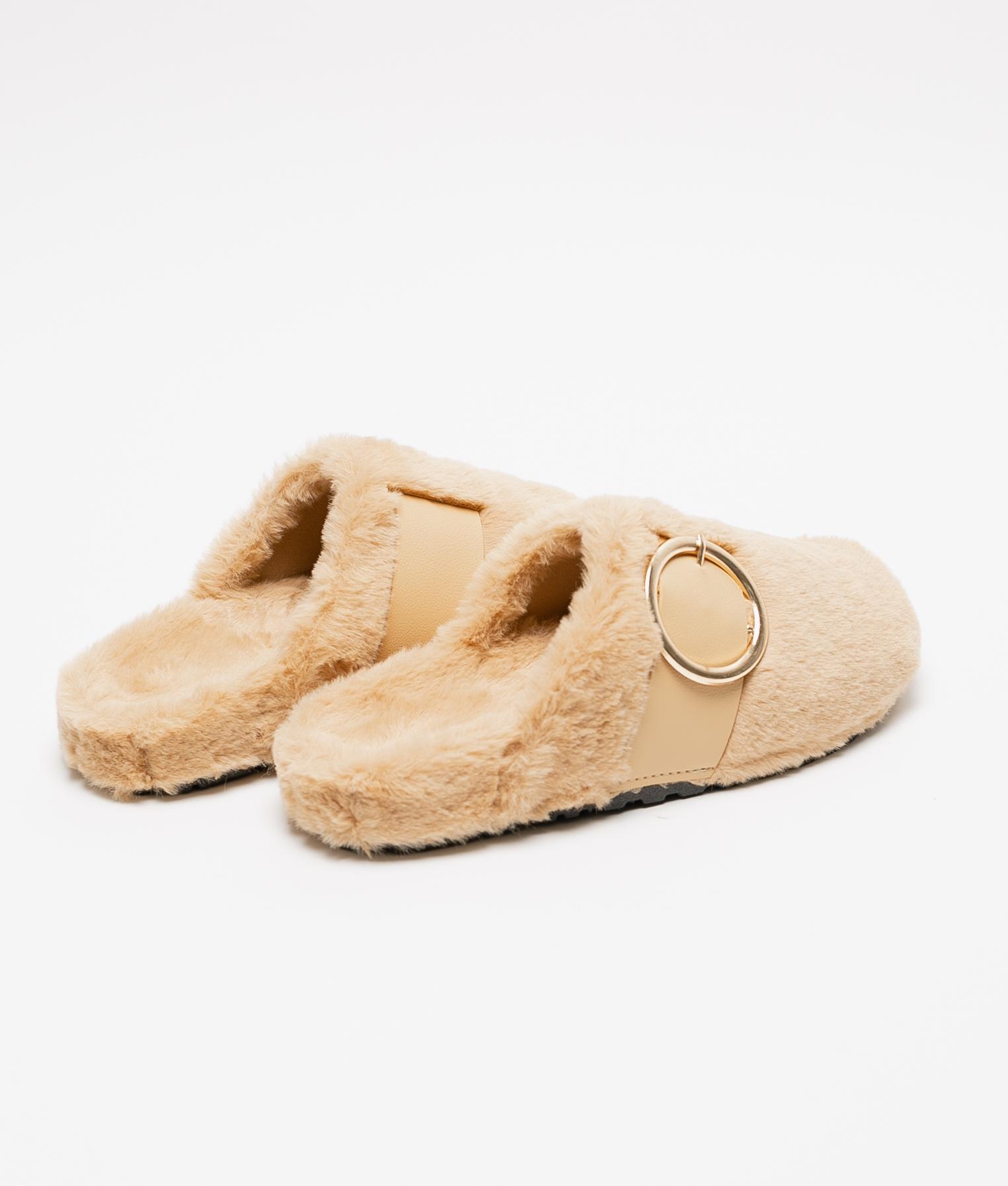 LALI SLIPPERS - CAMEL