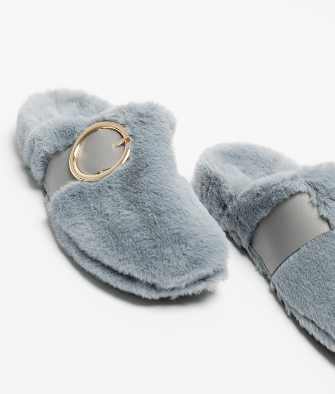 LALI SLIPPERS - GREY