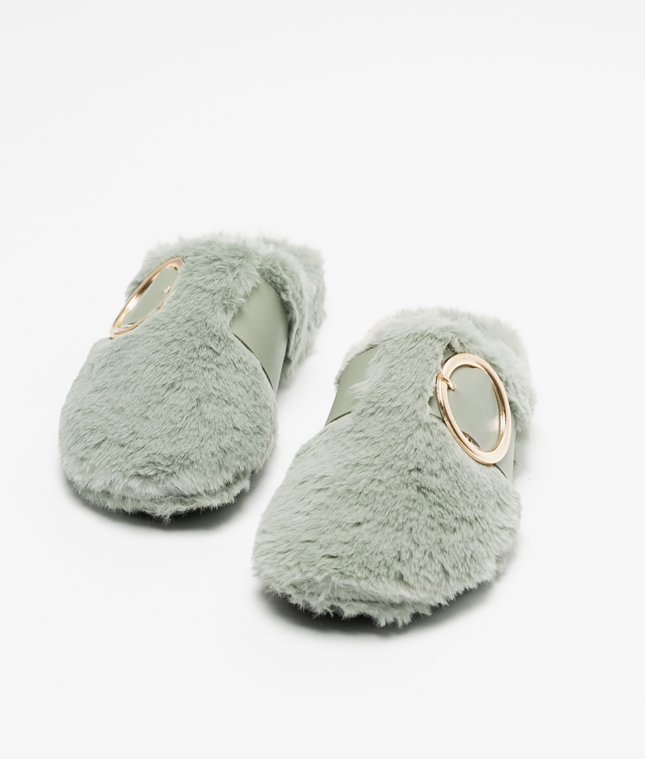 LALI SLIPPERS - GREEN