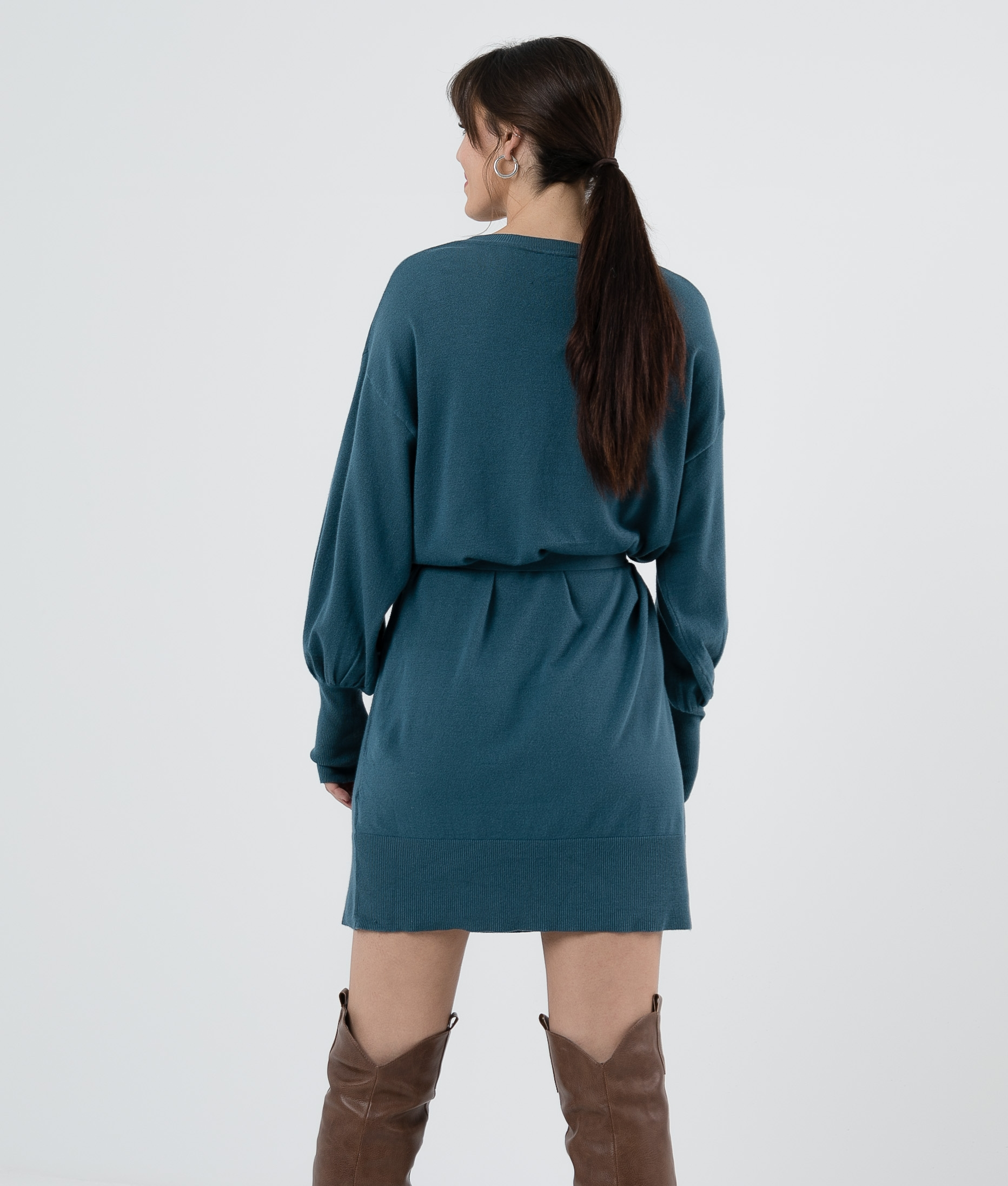 TERIC DRESS - BLUE