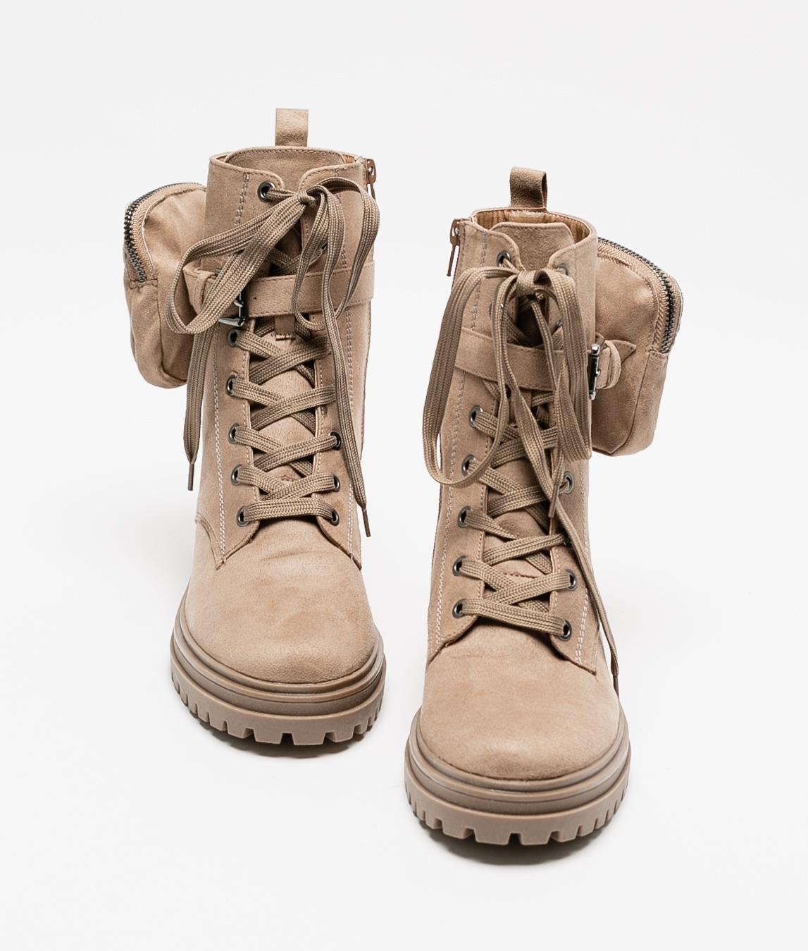 Low Boot Nevil- Beige