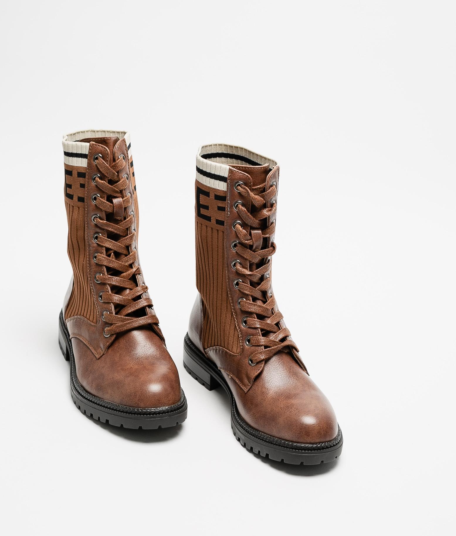 Low Boot Arlia - Camel