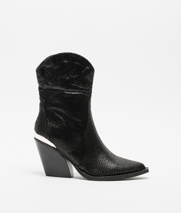 Knee-length Boot Zaman - Black