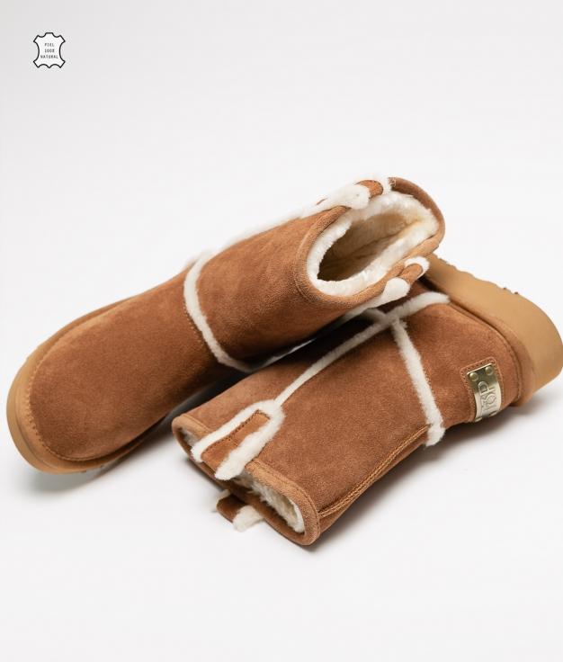 Low Boot Zele - Camel