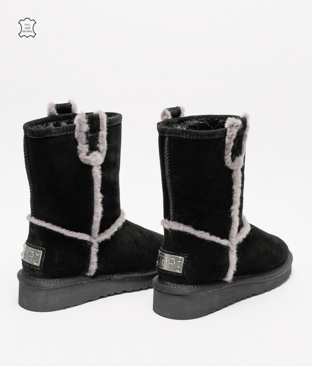 Low Boot Zele - Black