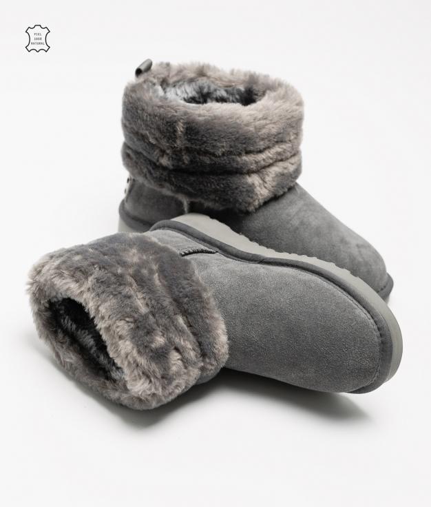 Fuji Low Boot - Grey