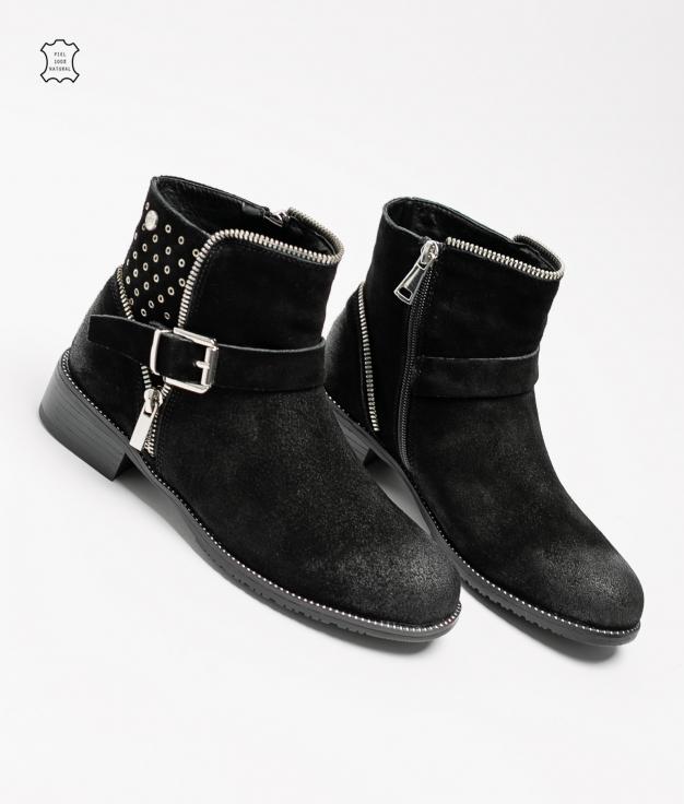 Lulen Low Boot - Black