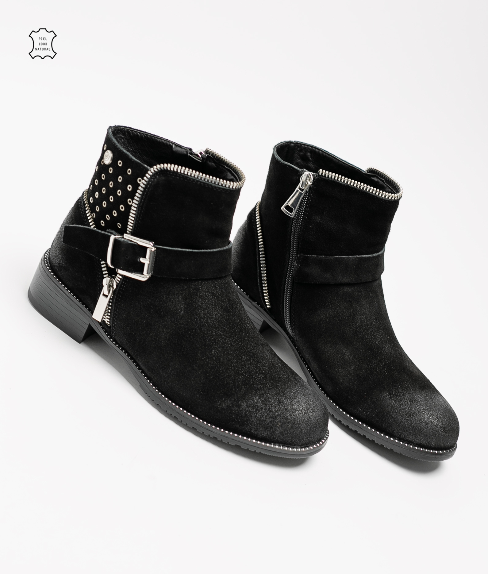 Lulen Low Boot - Black