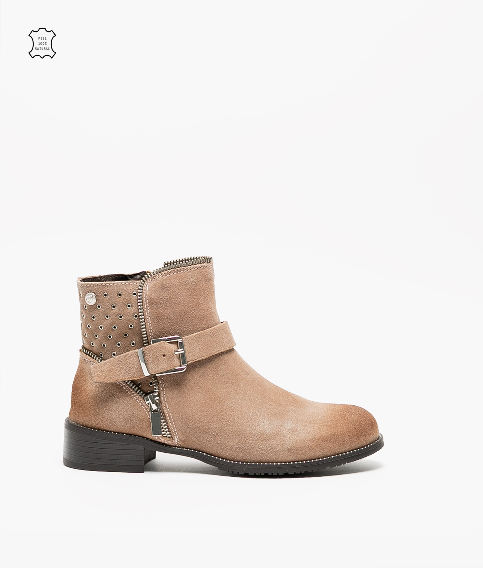 Lulen Low Boot - Taupe