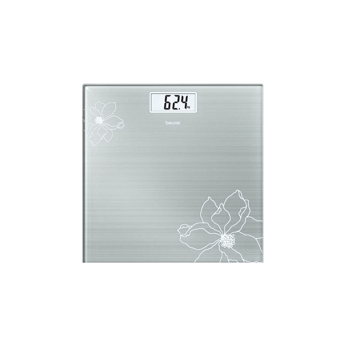 EXTRA-FLAT SCALE 180 Kg - GRAY
