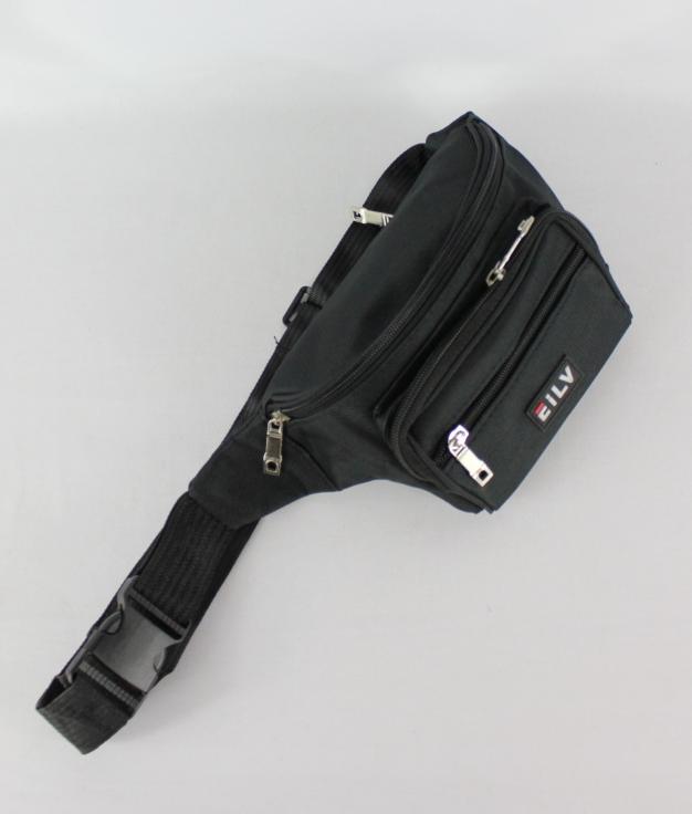 sac banane LEO - noir