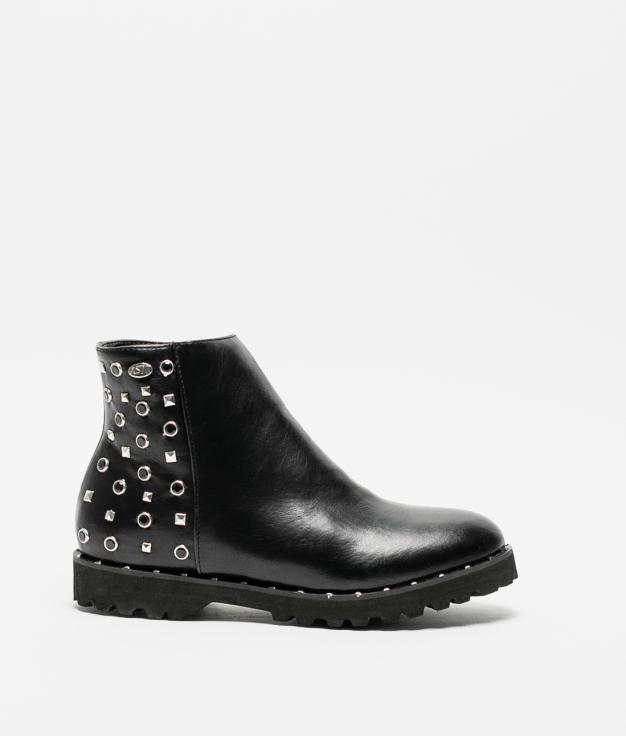 Low Boot Louis - Black