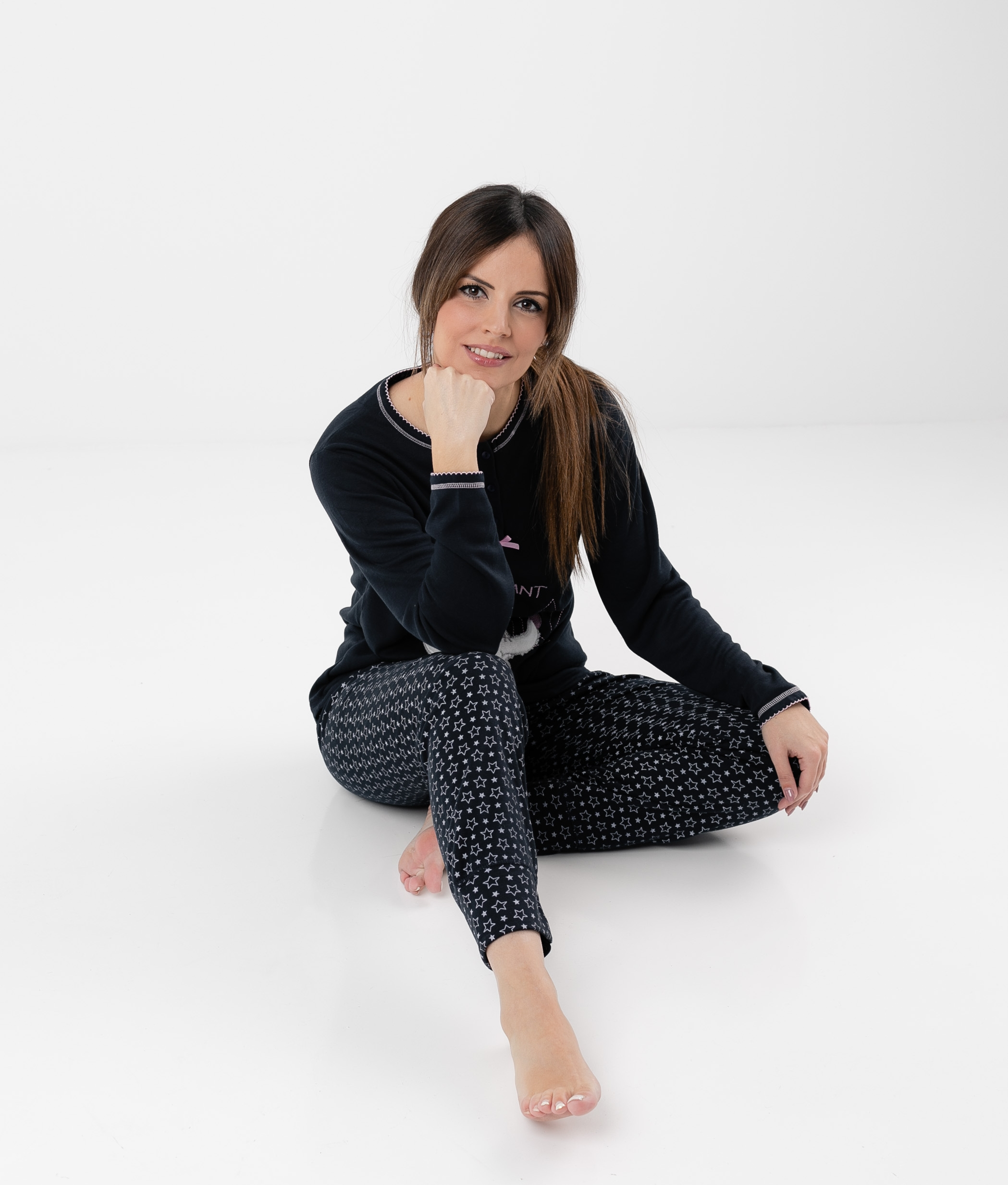 Pijama Makeba - Azul