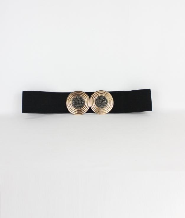 Cinturón Roé - Negro