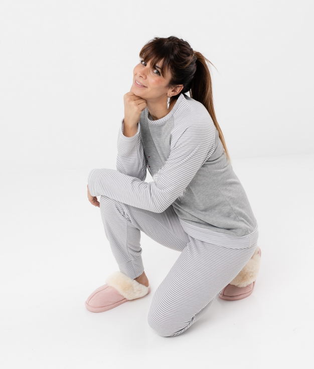 Pijama Lakti - Grey