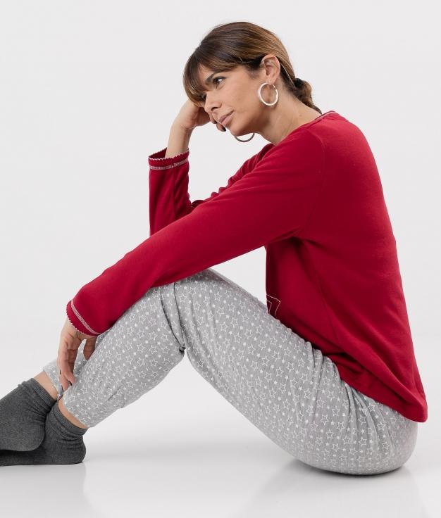 Pijama Makeba - Vermelho