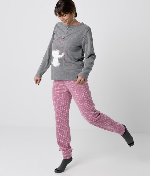 Pyjama Makeba - Gris