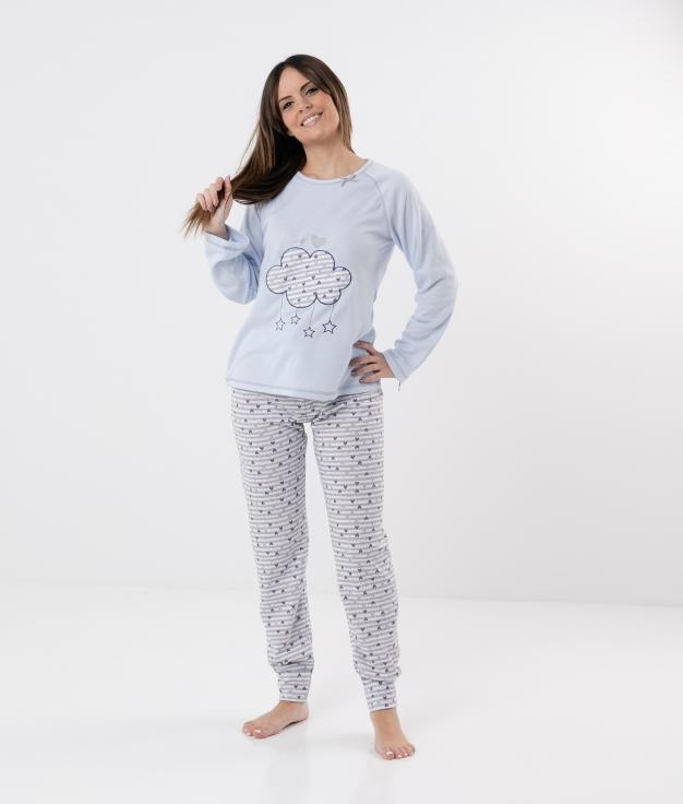 Pijama Candel - Blu