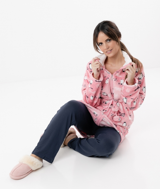 Coat Melion - Pink