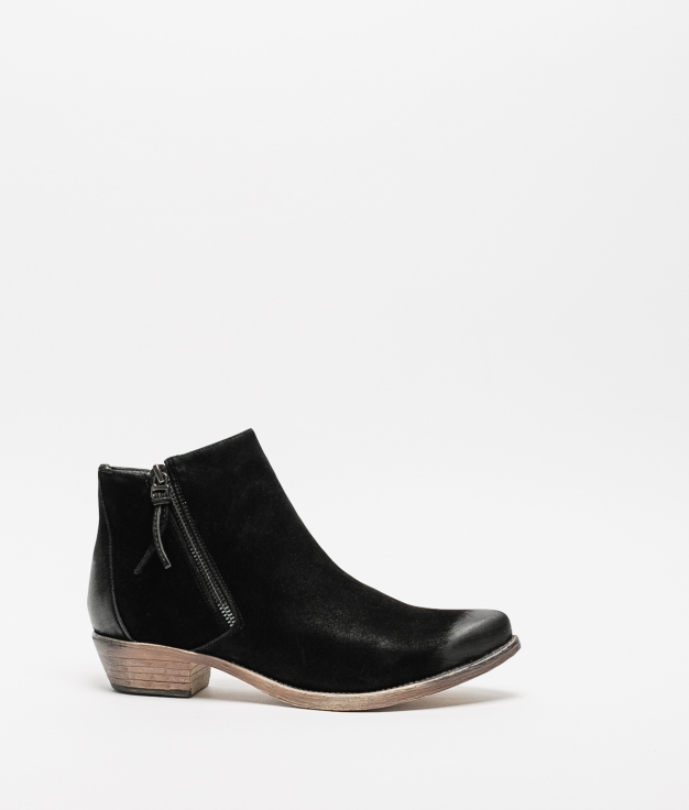 Cuvel Low Boot - Black