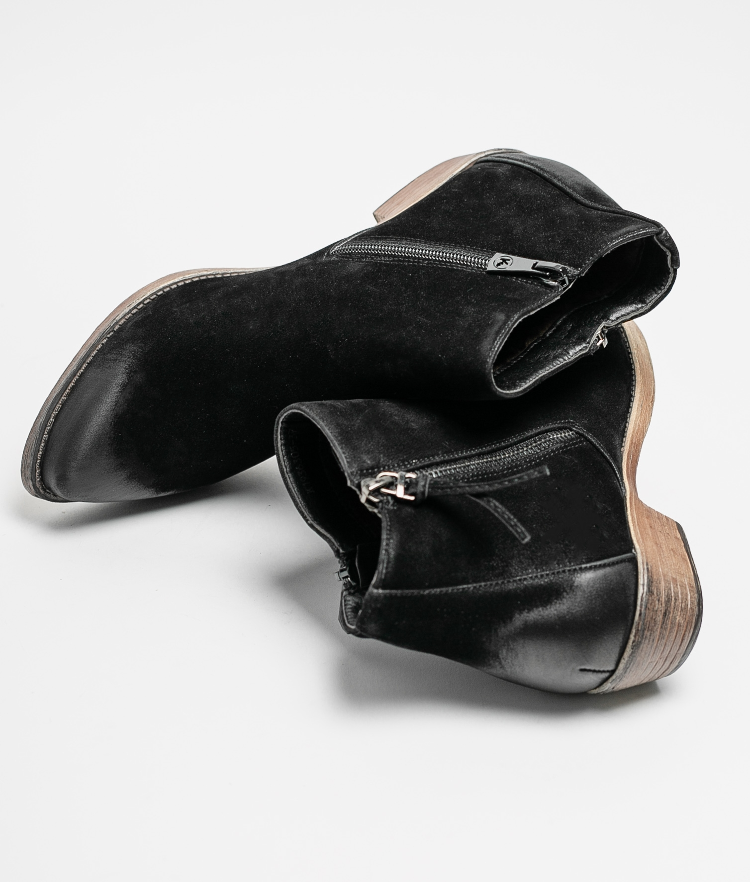 Cuvel Low Boot - Black
