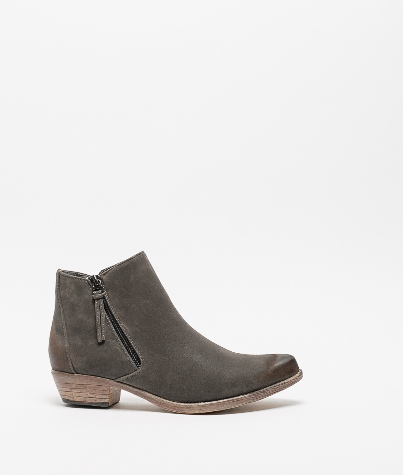 Cuvel Low Boot - Grey